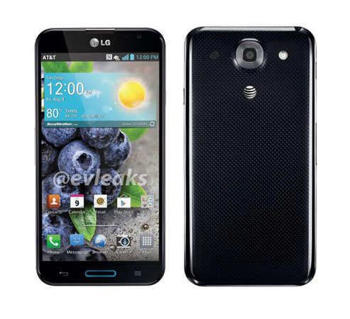 LG Optimus G Pro for AT&amp;T detailed