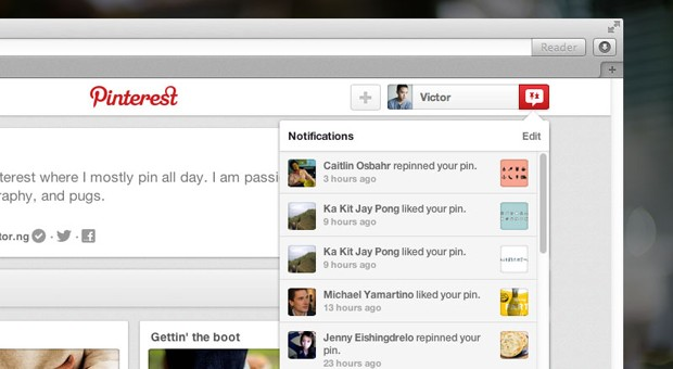 Pinterest overauls notifications and search, revives a load of classic features