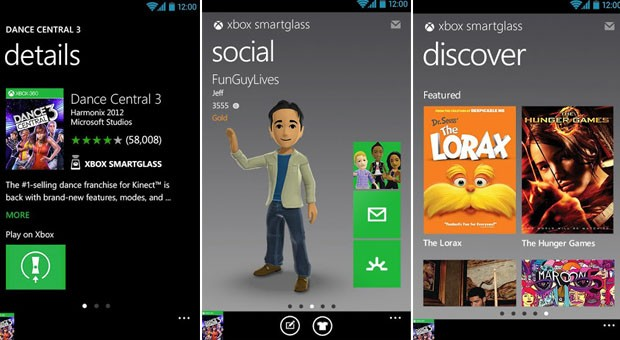 Xbox SmartGlass nabs update, now supports 7inch or larger tablets, alwayson Experiences