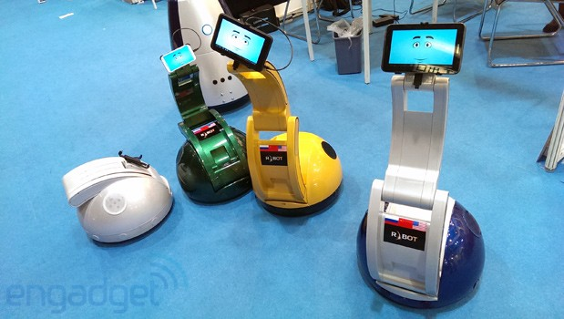 RBOT shows off phone or tabletpowered Synergy robots
