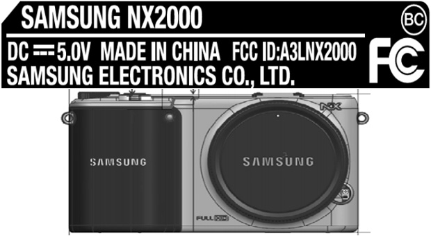 Samsung NX2000 mirrorless camera hits the FCC, may carry a smart OS