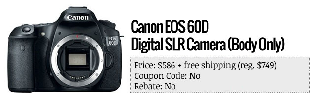 Slickdeals' best in teck for April 8th Drobo 5N NAS and Canon EOS 6D digital SLR