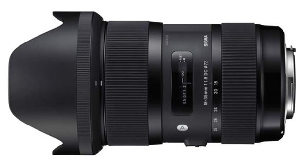 Sigma announces rarest of birds 1835mm f18 zoom