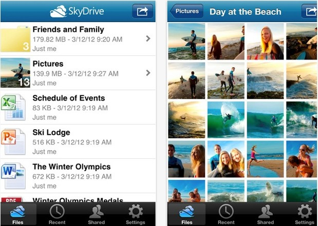 Microsoft updates SkyDrive for iOS to v30, touts support for more devices and revamped user experience