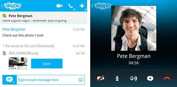 Skype preview launches for BlackBerry 10, but only for Q10 owners at first
