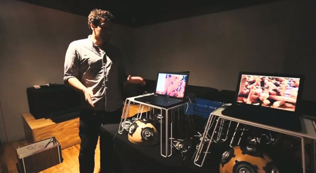 The technology of Stanford's Laptop Orchestra video