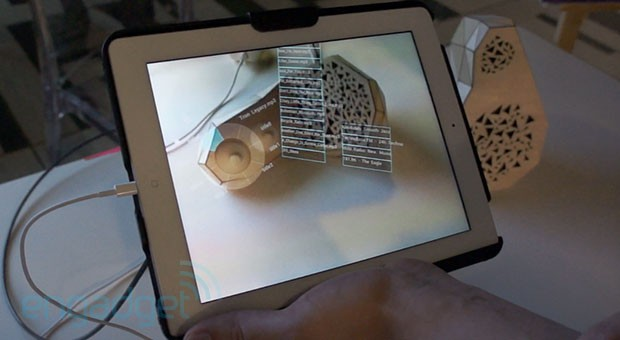 Eyeson MIT Media Lab's Smarter Objects can map a user interface onto anything video