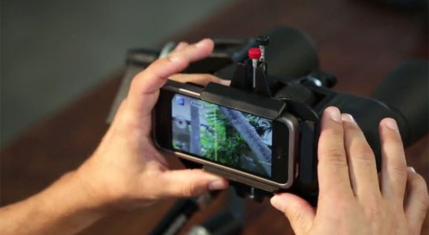 Snapzoom gives Kickstarters a crack at its smartphone scope adapter