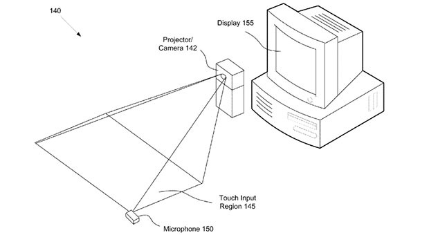 Sony patent claims touch pressure detection via microphone