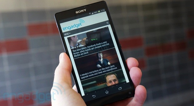 Sony Xperia ZL review: a giant phone in a surprisingly compact frame