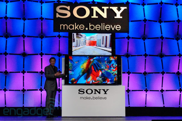 Sony announces pricing for 55 and 65inch 4K TVs, shipping April 21st