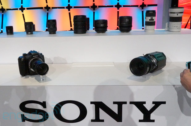 DNP  Visualized Sony teases prototype 4K cameras and lenses at NAB