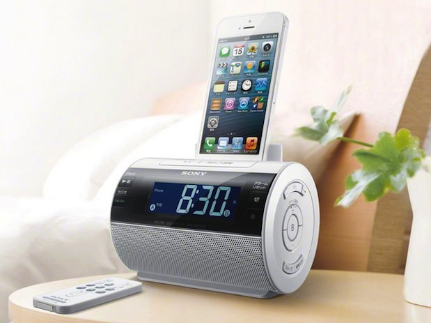 Sony outs Lightningfriendly speaker dock in Japan, alarm clock and radio features in tow