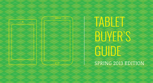 DNP Engadget's tablet buyer's guide spring 2013 edition