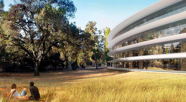 Apple revises campus plans, postpones building Tantau Ave complex to save money
