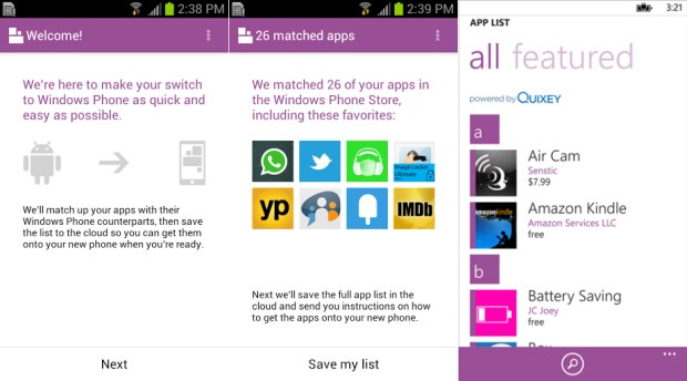 STUB Microsoft's Switch to Windows Phone app for Android attempts to prove your not missing out
