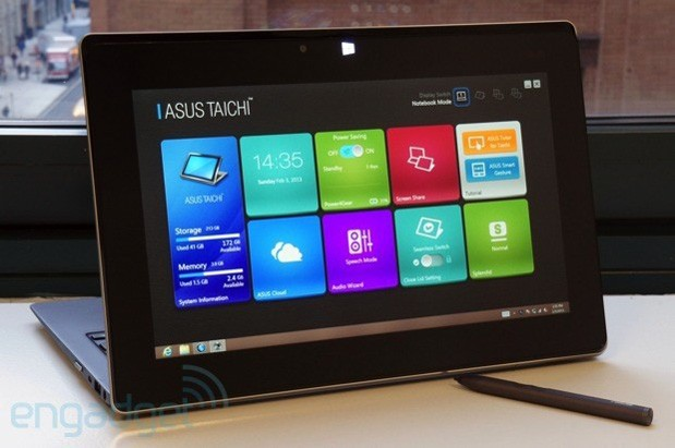 ASUS Taichi 31 almost ready after long delay a 13inch Ultrabook with dual 1080p displays