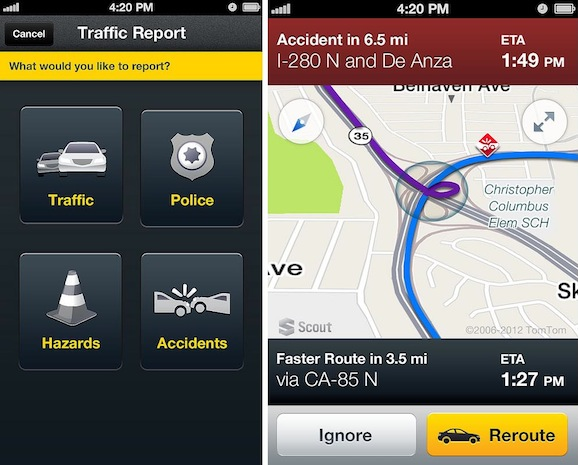Telenav Scout for Phones to go 3D, get crowdsourced traffic reporting in 2013