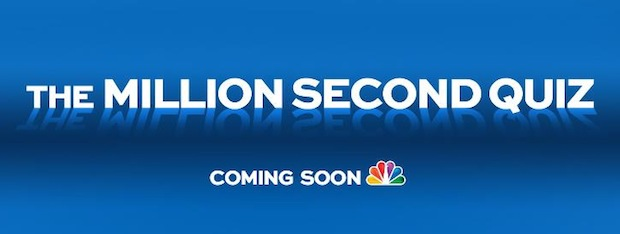 NBC plans twelve day, 24  7 'The Million Second Quiz' game show for the fall