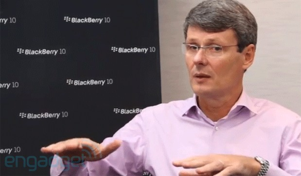 Thorsten Heins tablets aren't a good business model, BlackBerry aiming to lead mobile computing in five years
