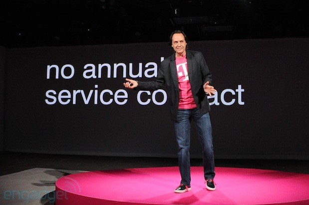 T-Mobile reports 'first