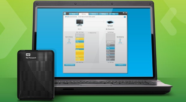 WD SmartWare Pro streamlines backups to both external drives and Dropbox