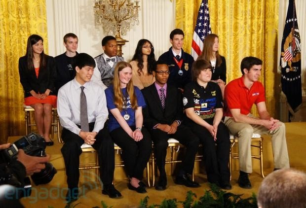 Engineering the future inside the third annual White House Science Fair