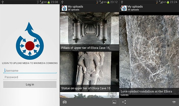 Wikimedia Android and iOS app exits beta, aims for easy Wikipedia photo gathering
