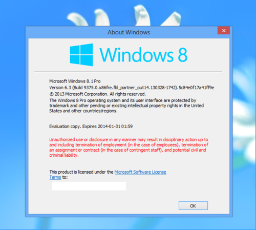 Windows Blue to be known as Windows 81