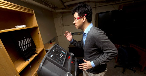 Purdue University's ReadingMate makes the classic reading-running combo a little easier