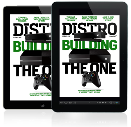 Distro Issue 92 Building the Xbox One