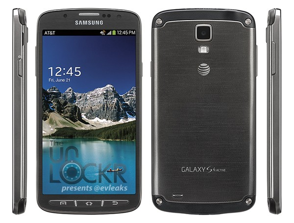 Samsung Galaxy S 4 Active shown off with AT&T branding