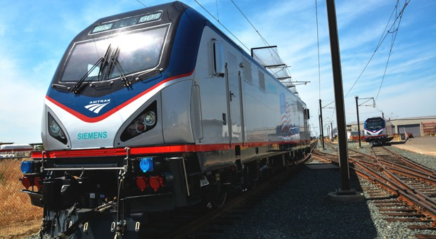 Amtrak starts receiving highefficiency trains with regenerative braking video