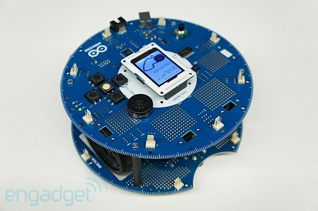 Arduino Robot launches at Maker Faire, we go handson video