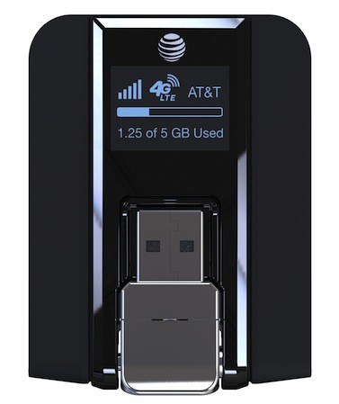 AT&T Beam is a USB LTE modem with builtin LCD, due May 10th for $  20