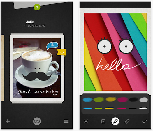 Wacom releases Bamboo Loop photo-sharing digital card app (video)
