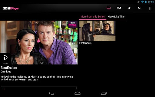 BBC iPlayer for Android adds support for 10-inch tablets, improves user interface
