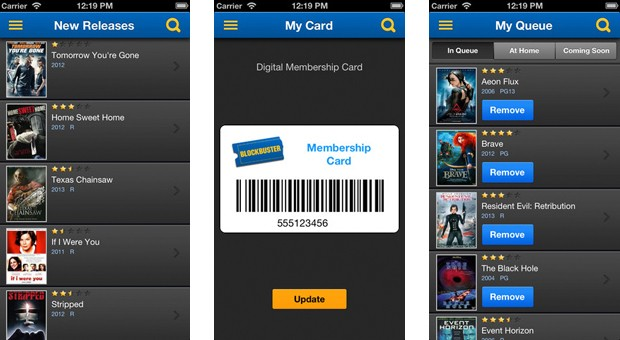 Blockbuster 20 for iOS manages all but the streaming you really want