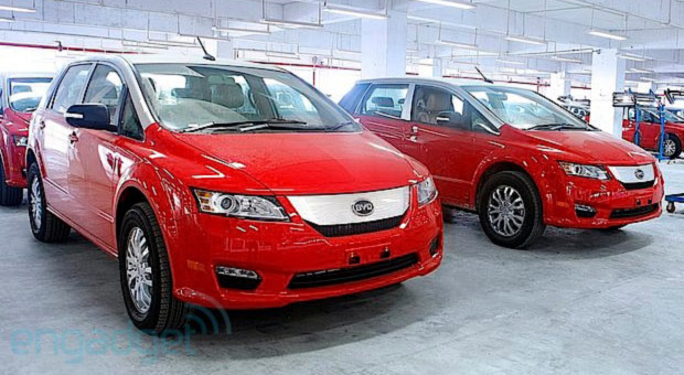 BYD e6 allelectric taxis, Premier sedan launch in Hong Kong