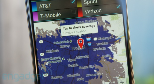 CellMaps by Mosaik Solutions brings accurate, detailed coverage maps to Android
