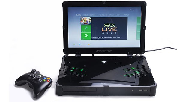 Darkmatter flaunts its Xbox 360 laptop Kickstarter project at Maker Faire
