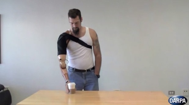 DARPA developing prosthetic limbs controlled by muscles and can feel