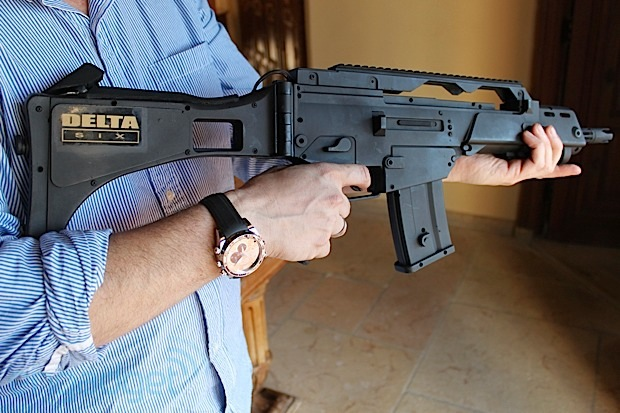 Hands-on with the Delta Six gaming gun controller (video)