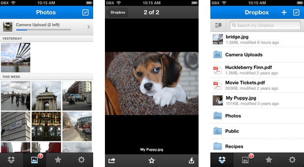 Dropbox 22 for iOS simplifies photo sharing, supports Dropbox for Business