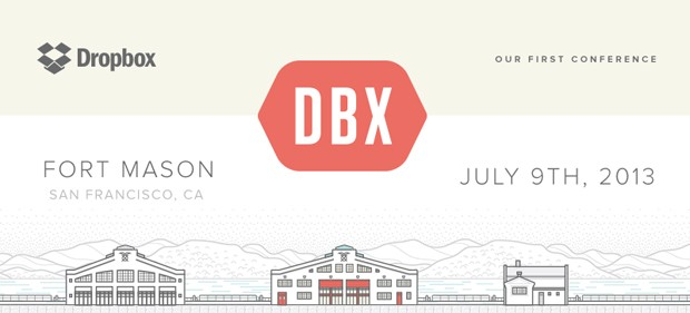 Dropbox to hold its first developer conference, DBX, on July 9th