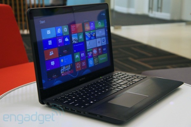 Sony VAIO Fit 15 review 2013