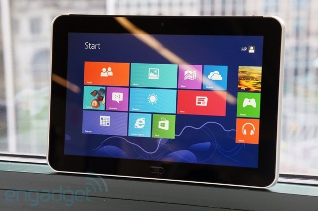 hp elitepad 900 review hpu002639s first windows 8 tablet for the hps first window 8 tablet will target businesses not consumers 619x411