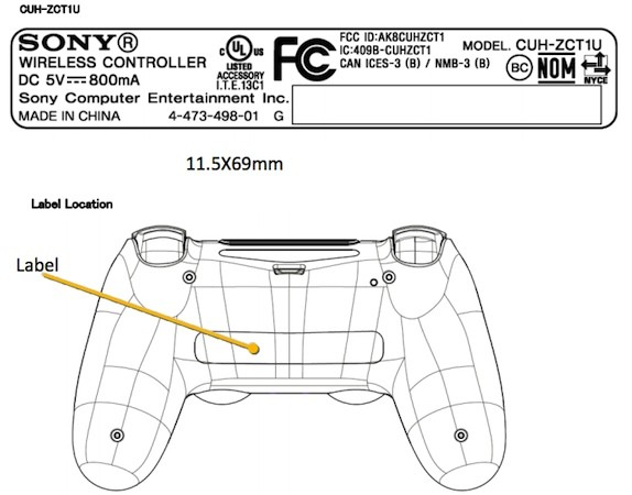 PlayStation 4′s DualShock 4 controller passes through the FCC solo