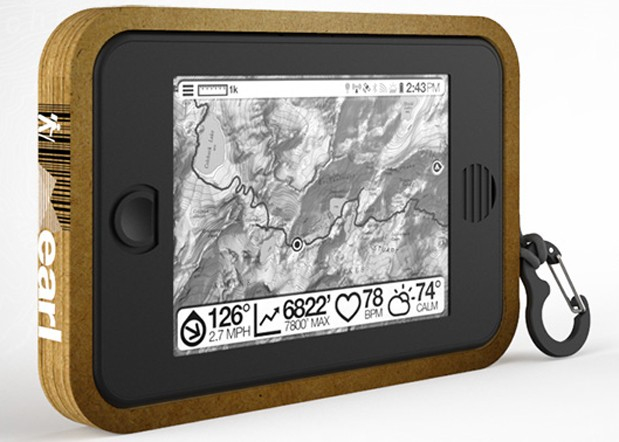Sqigle's Earl tablet brings Android to outdoor trekkers with epaper, solar power