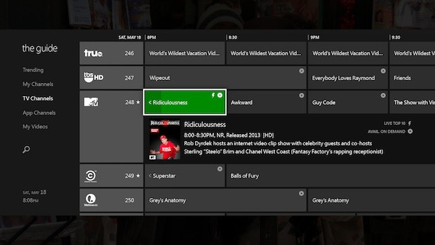 Xbox OneGuide brings HDMI inout, overlays for live TV